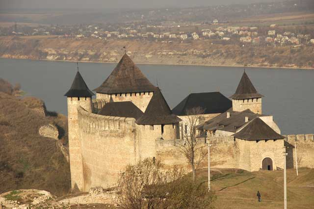 Khotyn Fortress, site of the first two Battle of the Nations events